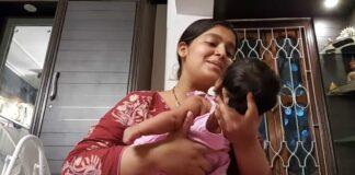হিন্দি গান গেয়ে ছেলে কে ঘুম পাড়াচ্ছেন মধুবনী! দেখে নিন সেই আদুরে ভিডিও