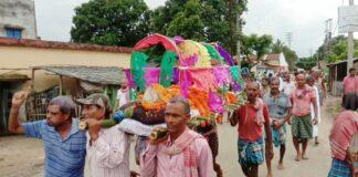মালদহে বৃদ্ধার শ্মশানযাত্রায় ধুমধামের সঙ্গে ডিজে বাজিয়ে চলল উদ্দাম নাচ! রইল ভাইরাল ভিডিও