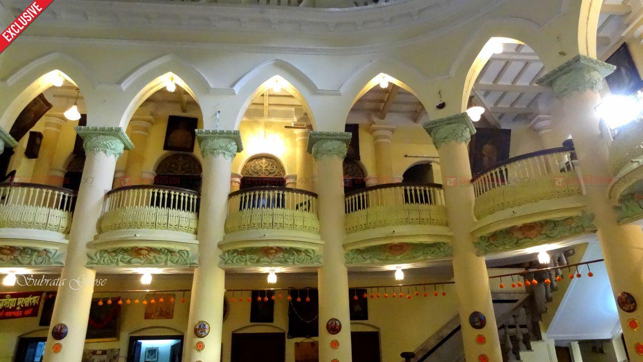 শিবকৃষ্ণ দাঁ -এর বাড়ি দুর্গা পুজো